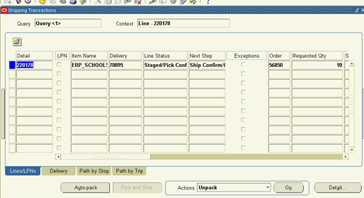 order to cash process in oracle apps