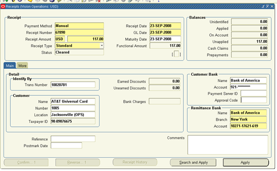 Invoice Business Pdf Order To Cash Process In Oracle Apps How To Read Receipt Pdf with How To Write A Tax Invoice Word Click On Apply Button To Apply It To The Invoice Quickbooks Import Sales Receipts Excel