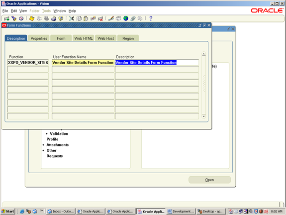 Using CALL_FORM to invoke another form in Oracle Apps