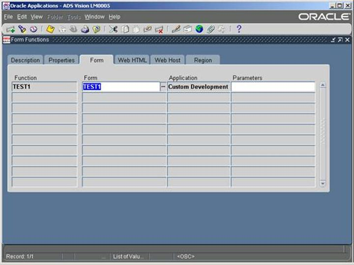 Oracle Apps Forms Customization Steps and Registration Process