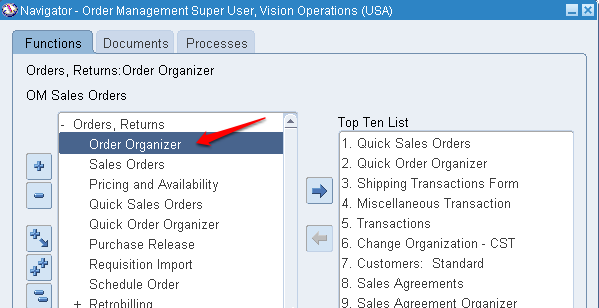 back to back order process in oracle apps