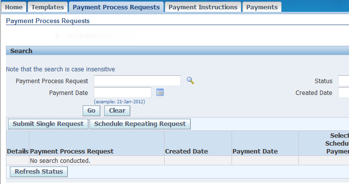 Ap Payment Manager Process In R12 Erpschools
