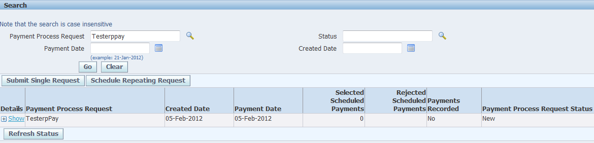 AP: Payment Manager Process in R12 - erpSchools
