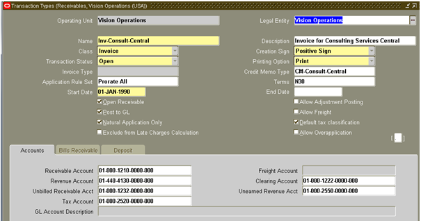 Invoices and Credit Memos in Oracle AR - erpSchools