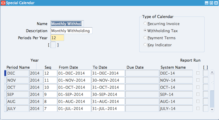 Withholding Tax Invoices in Oracle AP - erpSchools