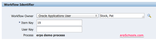Run oracle workflow from workflow administrator