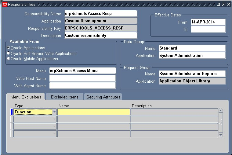 Responsibility in Oracle Apps - erpSchools